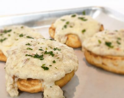 Breakfast Biscuits and Gravy